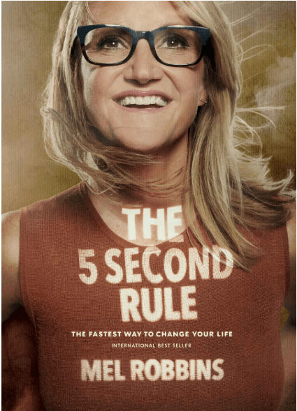 """The most inspiring books are like good friends: they ask the right questions and show you a new path. They wake you up and inspire you.  """"The 5 Second Rule"""" by Mel Robbins will inspire you to action and create transformation your life -- fast!."""