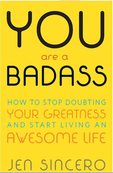 """The most inspiring books are like good friends: they ask the right questions and show you a new path. They wake you up and inspire you. """"You are a Badass"""" by Jen Sincero will help you ditch self-doubt and start living an inspiring life."""
